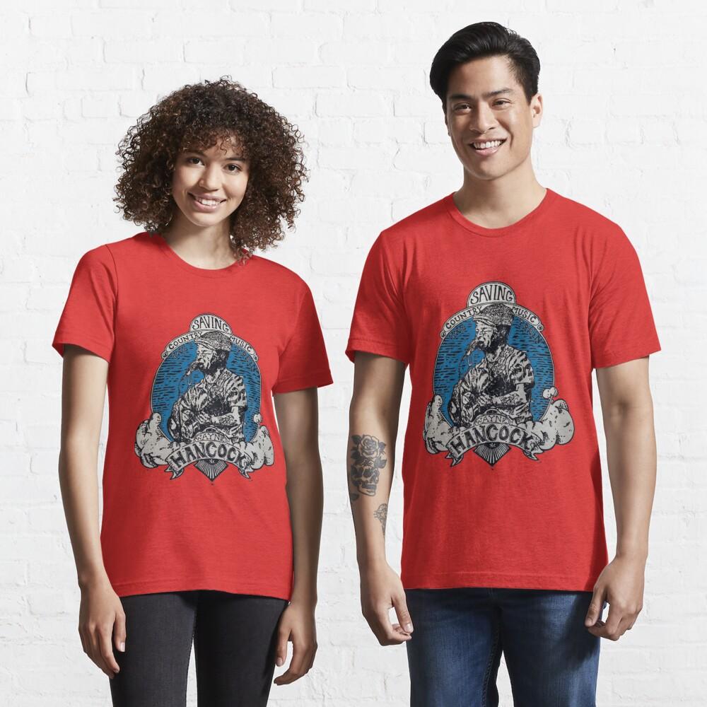 "wayne ""the train"" hancock  Essential T-Shirt"