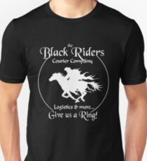 Black Riders Courier Company (white version) T-Shirt