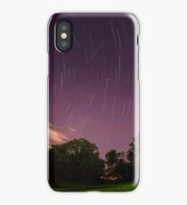 Perseids in Timelapse iPhone Case/Skin
