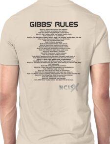 Gibbs' Rules - NCIS Unisex T-Shirt