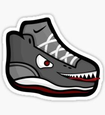 Shoe Monster Sticker
