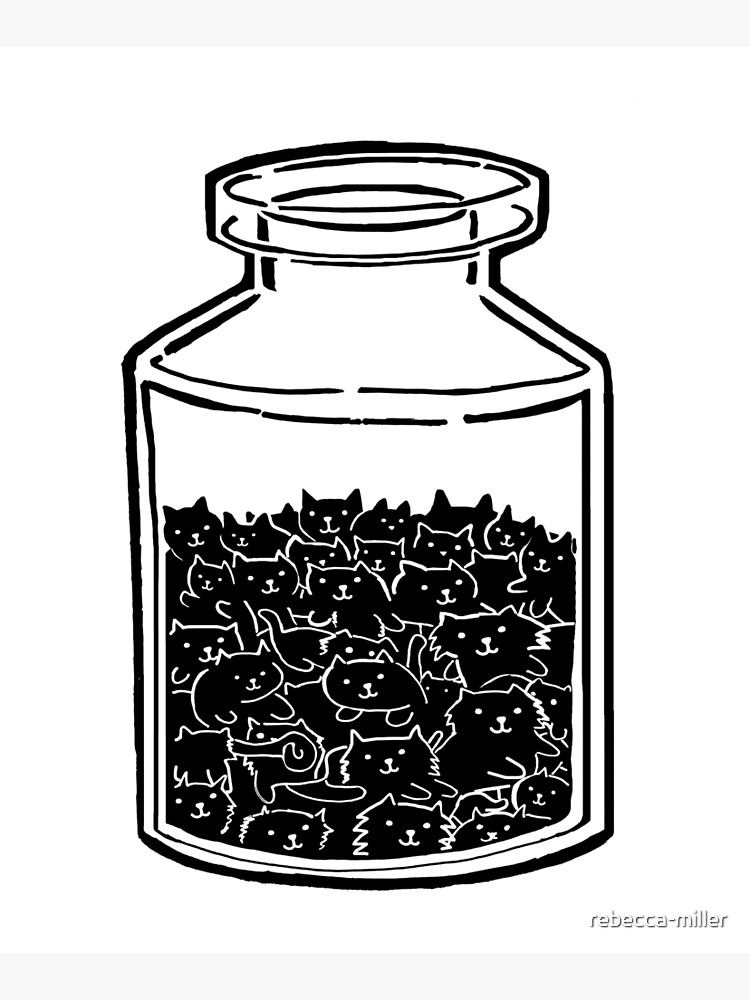 Cats In A Jar by rebecca-miller