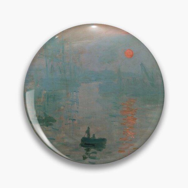 Claude Monet, French Painter - Impression, Sunrise Pin