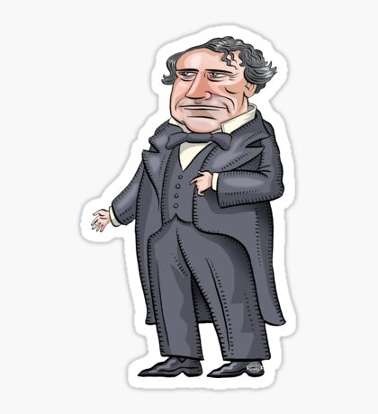 President Franklin Pierce Sticker