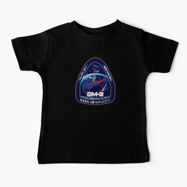 Crew Dragon Demo-2 Patch Baby T-Shirt