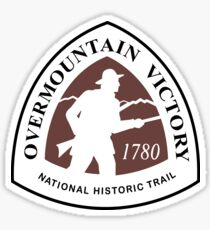 Overmountain Victory Trail Sign, USA Sticker