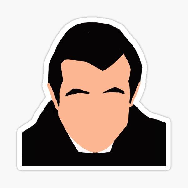 Dracula - Claes Bang Illustration Sticker