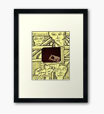 scerino framed Framed Print