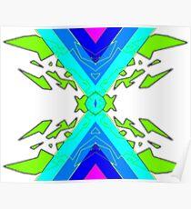 Symmetric Pattern 1 Poster