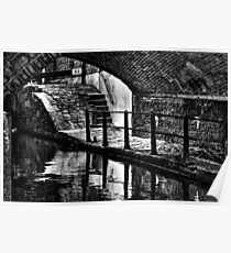 Lock 83 Ancoats,Rochdale Canal Poster
