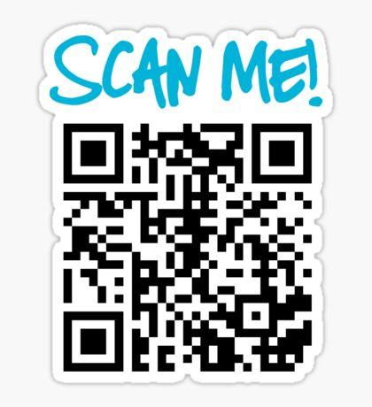 Scan Me! Sticker