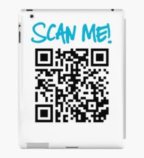 Scan Me! iPad Case/Skin