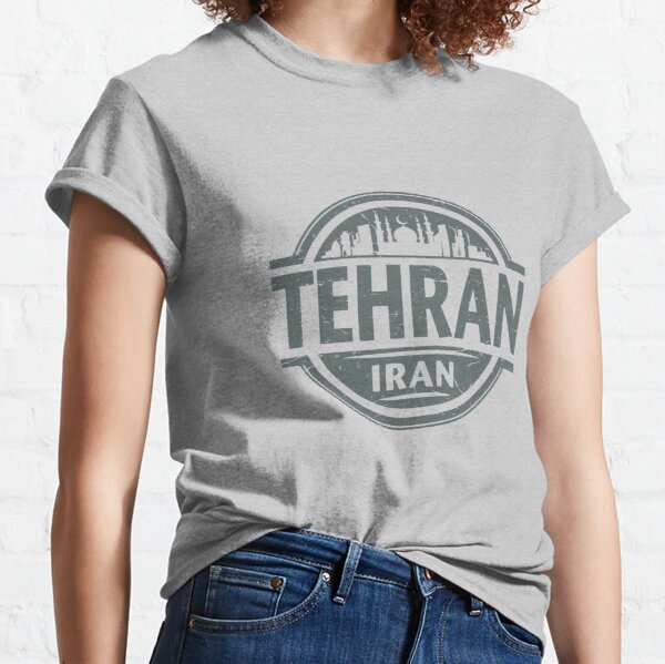Tehran Vintage City Adult Tri-Blend Long Sleeve T-shirt