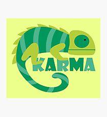 Karma Photographic Print