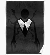 'Slender' poster Poster