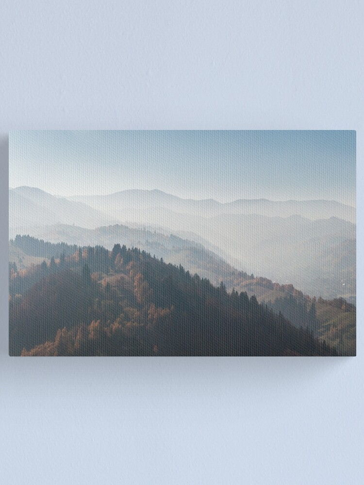 Alternate view of Diffuse morning Canvas Print