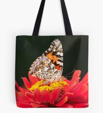 PAINTED LADY IN RED Tote Bag