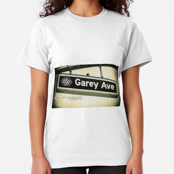 Garey Avenue, Pomona, California by Mistah Wilson Classic T-Shirt