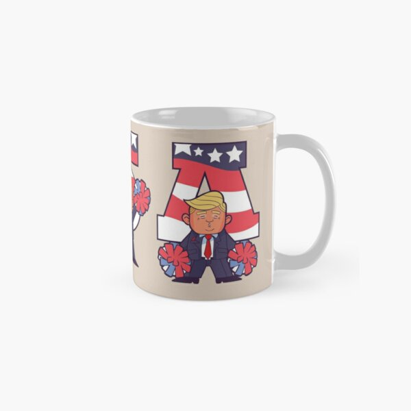 USA TRUMP CARTOON Classic Mug