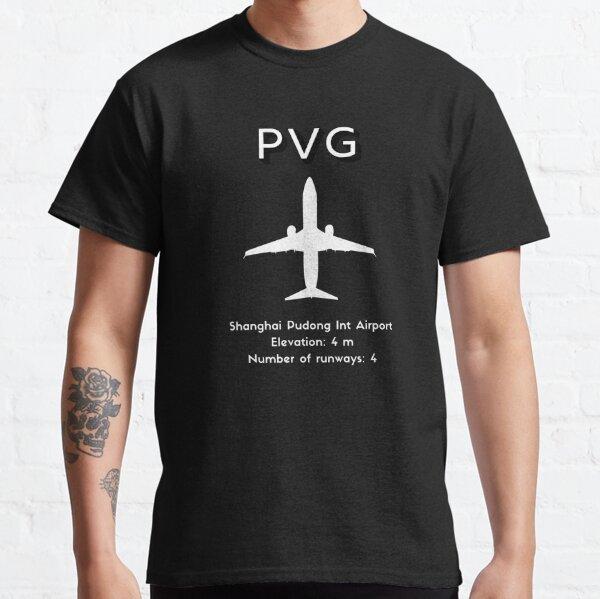 Shanghai Pudong International Airport PVG Classic T-Shirt