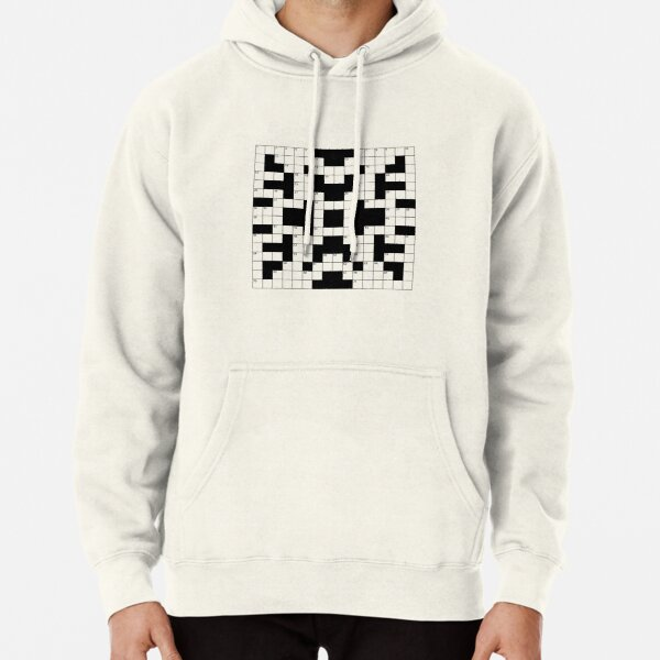 Spot on a Shirt Crossword Clue Pullover Hoodie