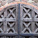 Old doors in Trakai castle - Lithuania by Arie Koene