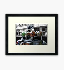 Candy cart Framed Print