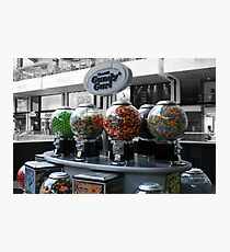 Candy cart Photographic Print