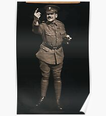 Soldier beckoning 851 Poster