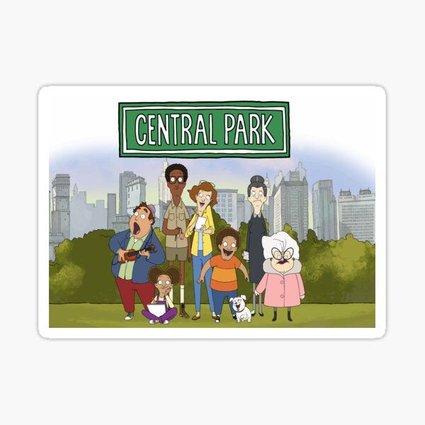 Central Park Tv Show - All Characters Sticker
