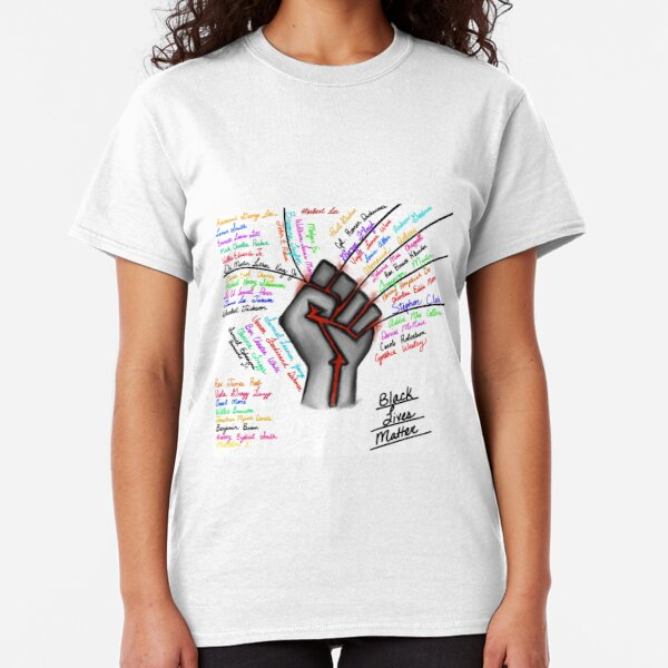 Black Lives - The Martyrs  Classic T-Shirt