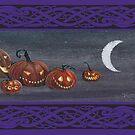 Jack-o-lanterns at Halloween. by katemccredie