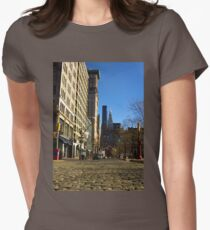 Cobble Stones - Union Square West Womens Fitted T-Shirt