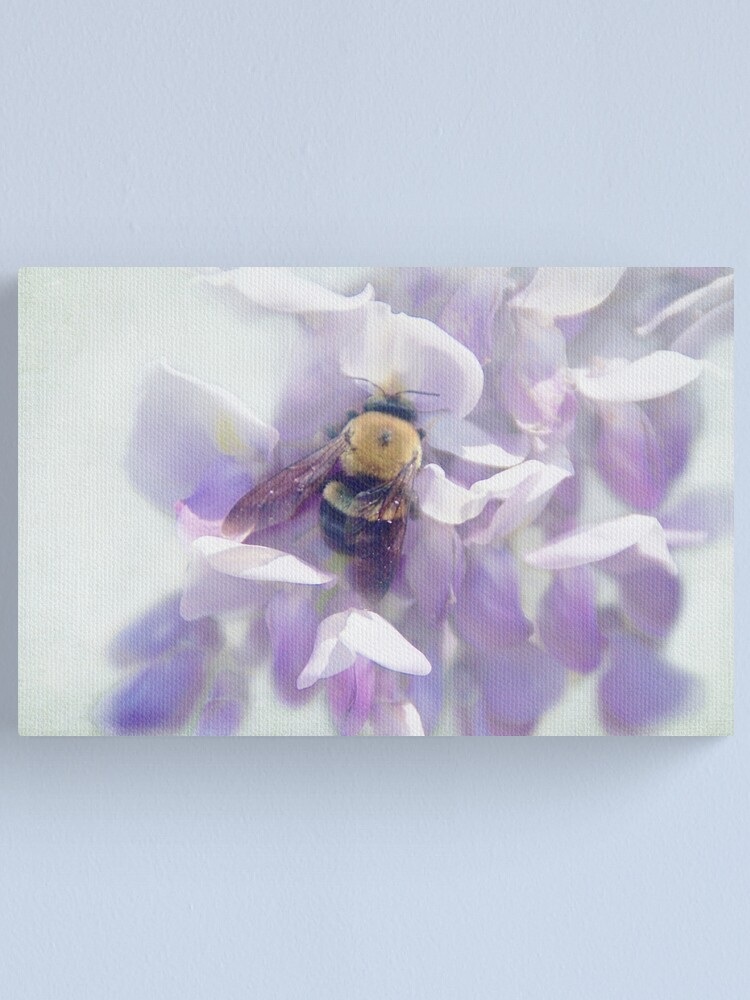 Alternate view of Oh Wisteria! Canvas Print