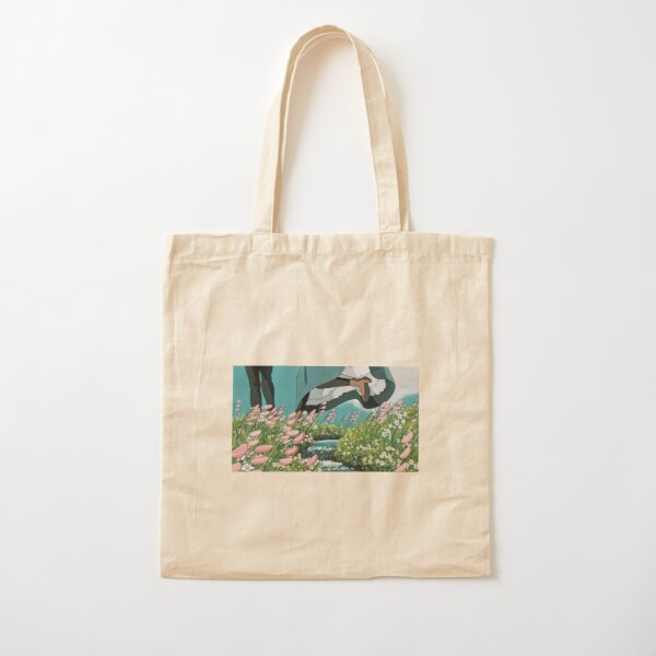 Howl's Moving Castle Sticker Cotton Tote Bag
