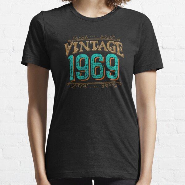 Distressed Vintage 1969 Birthday Essential T-Shirt
