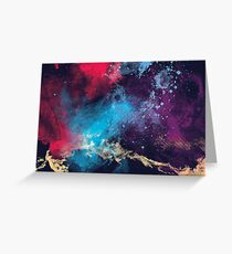 Textured Space Greeting Card