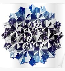 Symmetric Pattern 2 Poster