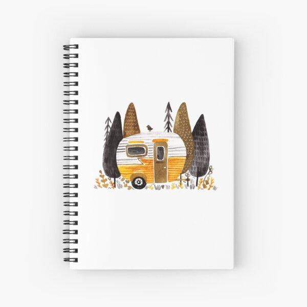 Trailer Parking Spiral Notebook