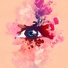 Psychedelic Color Eye Splash by Pepe Psyche by Pepe Psyche