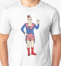 Patriotic Dean Unisex T-Shirt