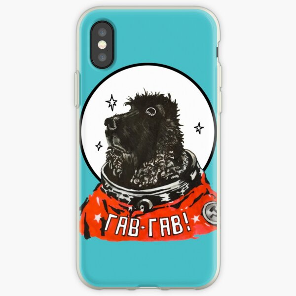 Bonnie the Space Dog iPhone Soft Case