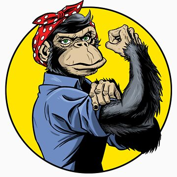 Chimp Power! by dennisculver