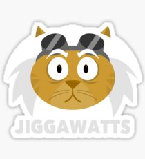 Cheshire POP! - Jiggawatts Sticker