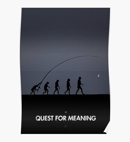 99 Steps of Progress - Quest for meaning Poster