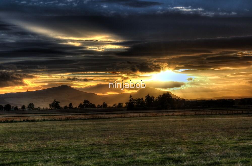 Lomond Hills Sunset. by ninjabob