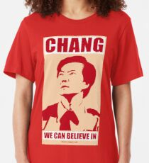Chang We Can Believe In Slim Fit T-Shirt