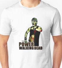The Power Walking Dead (on White) [iPad / Phone cases / Prints / Clothing / Decor] Unisex T-Shirt