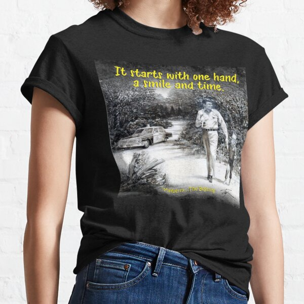 Starts with One Hand Classic T-Shirt