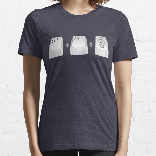Ctl+Alt+Del Essential T-Shirt